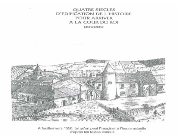 Histoire condensée du fief et de la commune d'Arfeuilles